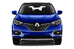 Car photography straight front view of a 2019 Renault Kadjar Intens 5 Door SUV Front View