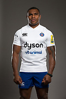 Semesa Rokoduguni poses for a photo during a Bath Rugby photoshoot on August 9, 2017 at Farleigh House in Bath, England. Photo by: Rogan Thomson for Onside Images