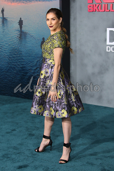 """08 March 2017 - Hollywood, California - Allison Holker. """"Kong: Skull Island"""" Los Angeles Premiere held at Dolby Theatre. Photo Credit: AdMedia"""