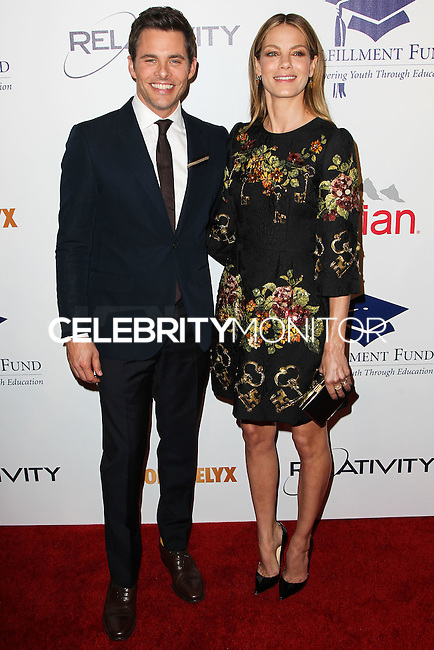 BEVERLY HILLS, CA, USA - OCTOBER 14: James Marsden, Michelle Monaghan arrives at the 20th Annual Fulfillment Fund Stars Benefit Gala held at The Beverly Hilton Hotel on October 14, 2014 in Beverly Hills, California, United States. (Photo by Celebrity Monitor)