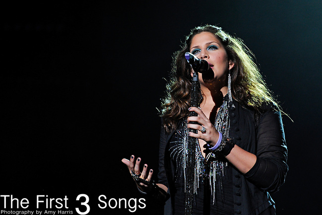Hillary Scott of Lady Antebellum performs at LP Field during the 2012 CMA Music Festival on June 07, 2011 in Nashville, Tennessee.