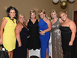 Melissa Harding, Eilish Murray, Hayley and lana Branigan, Deirdre kavanagh and Helen McEvoy pictured at Sandra Finegan's 50th birthday in the Westcourt hotel. Photo: Colin Bell/pressphotos.ie