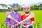 l-r  Aoife Moynihan and Nora Cadogan  enjoying the Parnells summer camp in Caherslee GAA grounds