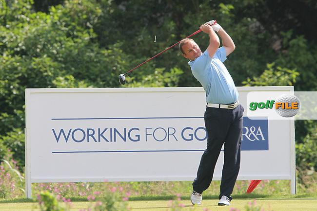 Matthew Clark (Scotland) on the Final Day of the International European Amateur Championship 2012 at Carton House, 11/8/12...(Photo credit should read Jenny Matthews/Golffile)...