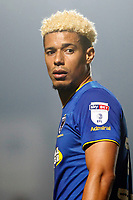 Lyle Taylor of AFC Wimbledon seen during the Sky Bet League 1 match between AFC Wimbledon and Charlton Athletic at the Cherry Red Records Stadium, Kingston, England on 10 April 2018. Photo by Carlton Myrie / PRiME Media Images.