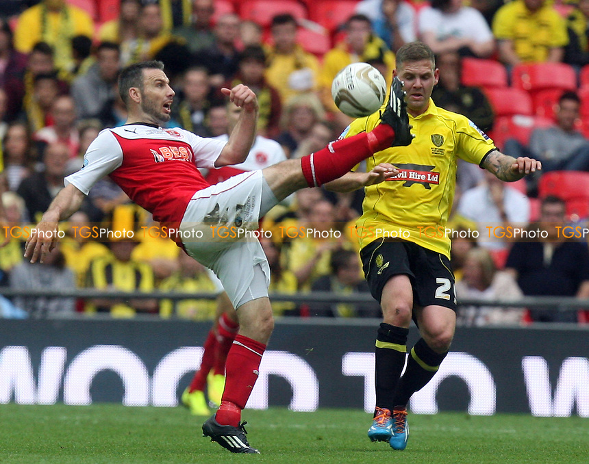 Shane Cansdell-Sherriff of Burton Albion - Burton Albion vs Fleetwood Town, Sky Bet Play Offs - League Two play off final Wembley Stadium - 26/05/14 - MANDATORY CREDIT: Dave Simpson/TGSPHOTO - Self billing applies where appropriate - 0845 094 6026 - contact@tgsphoto.co.uk - NO UNPAID USE