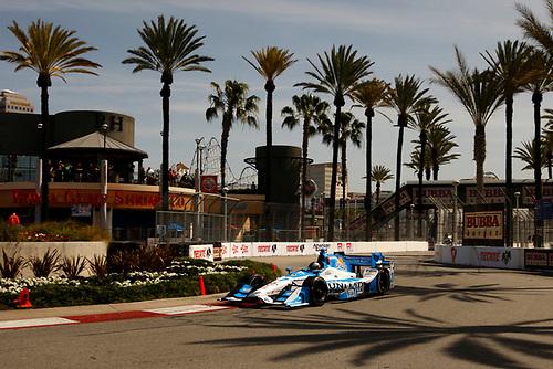 15-17 April, 2016, Long Beach, California USA<br /> 27 Marco Andretti<br /> ©2016, Phillip Abbott<br /> LAT Photo USA