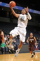 Feb. 27, 2011; Charlottesville, VA. USA;  Duke Blue Devil basketball recruit Michael Gbinije of Benedictine High School from the Class of 2011. (Credit Image: © Andrew Shurtleff)
