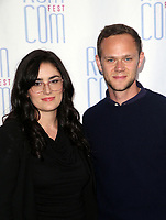 """LOS ANGELES, CA - JUNE 21: Audrey Tommassini, Joseph Cross, at 2019 Rom Com Fest Los Angeles - """"Summer Night"""" at Downtown Independent in Los Angeles, California on June 21, 2019. Credit: Faye Sadou/MediaPunch"""