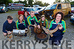 Gneveeguilla Basketball club are appealing for donate their scrap metal which will fundraising collection which will run until the 9th September l-r: Lorcan Keane, Eilish Finnegan, Cathy O'Leary, Mike McGillicuddy, Roisin Collins and Siobhan Collins