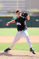 Cameron Lamb, San Francisco Giants 2010 minor league spring training..Photo by:  Bill Mitchell/Four Seam Images.