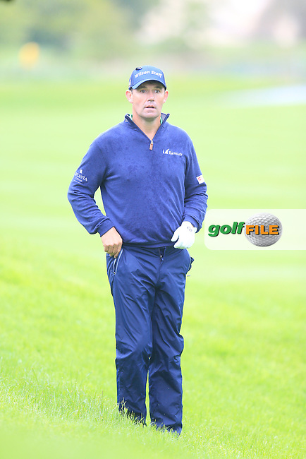 Padraig Harrington (IRL) on the 17th hole during Thursday's Round 1 of the 2016 Dubai Duty Free Irish Open hosted by Rory Foundation held at the K Club, Straffan, Co.Kildare, Ireland. 19th May 2016.<br /> Picture: Eoin Clarke | Golffile<br /> <br /> <br /> All photos usage must carry mandatory copyright credit (&copy; Golffile | Eoin Clarke)