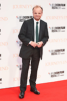 Toby Jones at the London Film Festival 2017 screening of &quot;Journey's End&quot; at the Odeon Leicester Square, London, UK. <br /> 06 October  2017<br /> Picture: Steve Vas/Featureflash/SilverHub 0208 004 5359 sales@silverhubmedia.com