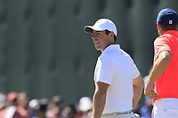 Rory McIlroy (NIR) on the 16th green during Thursday's Round 1 of the 118th U.S. Open Championship 2018, held at Shinnecock Hills Club, Southampton, New Jersey, USA. 14th June 2018.<br /> Picture: Eoin Clarke | Golffile<br /> <br /> <br /> All photos usage must carry mandatory copyright credit (&copy; Golffile | Eoin Clarke)
