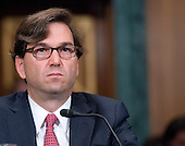 Jason Furman testifies before the United States Senate Banking, Housing, and Urban Affairs Committee on his nomination to be a Member and Chairman of the Council of Economic Advisors, Thursday, June 27, 2013.<br /> Credit: Ron Sachs / CNP