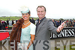 Best Dressed Lady Winners Maria Murphy with Daithi O'Se at Listowel Races Ladies Day 2011 on Friday.