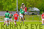 Action  at the Senior County Football Championship Milltown/CastleMaine V East Kerry at Killorglin GAA on Sunday