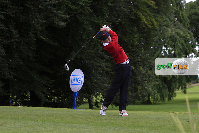 Alan Connaughton (Roscommon) on the 1st tee during the AIG Connacht Jimmy Bruen Shield Final of the AIG Connacht Cups &amp; Shields Finals 2016 at Ballinrobe Golf Club, Ballinrobe Co. Mayo on Saturday 6th August 2016.<br /> Picture:  Golffile | Thos Caffrey<br /> <br /> All photos usage must carry mandatory copyright credit   (&copy; Golffile | Thos Caffrey)