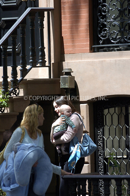 WWW.ACEPIXS.COM . . . . .  ....NEW YORK, MAY 24, 2005....Liv Tyler takes her colorfully dressed baby out for the day.....Please byline: Ian Wingfield - ACE PICTURES..... *** ***..Ace Pictures, Inc:  ..Craig Ashby (212) 243-8787..e-mail: picturedesk@acepixs.com..web: http://www.acepixs.com