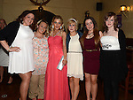 Hannah Kerrigan celebrating her 21st birthday in the Mariner with friends Grainne Floyd, Megan Tormey, Sara Clinton, Claire McKenna and Jeniffer Willis. Photo:Colin Bell/pressphotos.ie