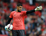 Sergio Romero of Manchester United during the Europa League Semi Final 2nd Leg match at Old Trafford Stadium, Manchester. Picture date: May 11th 2017. Pic credit should read: Simon Bellis/Sportimage