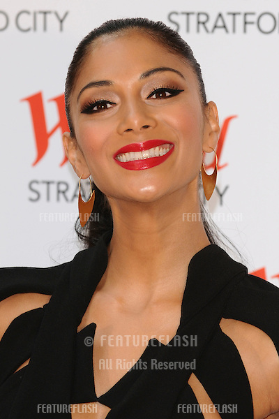 Nicole Scherzinger at the Grand Opening of the Westfield Stratford shopping centre, London. 13/09/2011  Picture by: Steve Vas / Featureflash