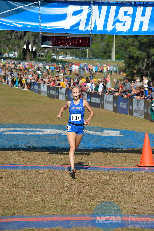 SAINT LEO - NOVEMBER 19:  The Division II Men's and Women's Cross Country Championship held at The Abbey Course on November 19, 2016 in Saint Leo, Florida. (Photo by Preston Mack/NCAA Photos via Getty Images)
