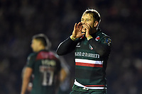 Matthew Tait of Leicester Tigers. European Rugby Champions Cup match, between Leicester Tigers and Munster Rugby on December 17, 2017 at Welford Road in Leicester, England. Photo by: Patrick Khachfe / JMP