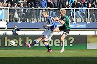 VOETBAL: HEERENVEEN: Abe Lenstra Stadion, 22-02-2015, Eredivisie, sc Heerenveen - FC Groningen, Eindstand: 3-1, Henk Veerman scoort de 3-1, ©foto Martin de Jong