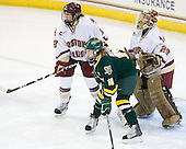 Shannon Webster (BC - 12), Brittany Nelson (Vermont - 16), Corinne Boyles (BC - 29) - The University of Vermont Catamounts defeated the Boston College Eagles 5-1 on Saturday, November 7, 2009, at Conte Forum in Chestnut Hill, Massachusetts.