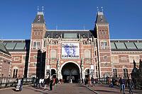Nederland Amsterdam - 2019.  Het Rijksmuseum in Amsterdam. Foto Berlinda van Dam / Hollandse Hoogte