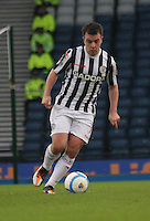 Paul McGowan in the St Mirren v Celtic Scottish Communities League Cup Semi Final match played at Hampden Park, Glasgow on 27.1.13.