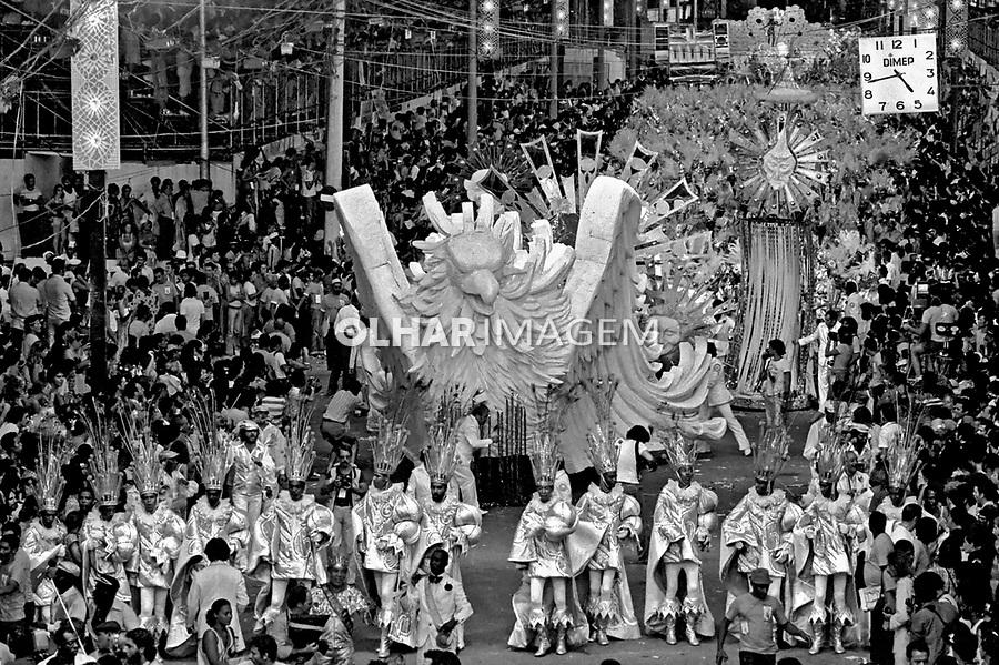 Desfile de carnaval. Rio de Janeiro. I979. Foto de Juca Martins.