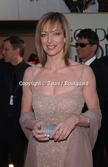Allison Janney arrives at the 2002 Golden Globe Awards at the Beverly Hilton Hotel on Sunday, January 20, 2002.           -            JanneyAllison01AA.jpg
