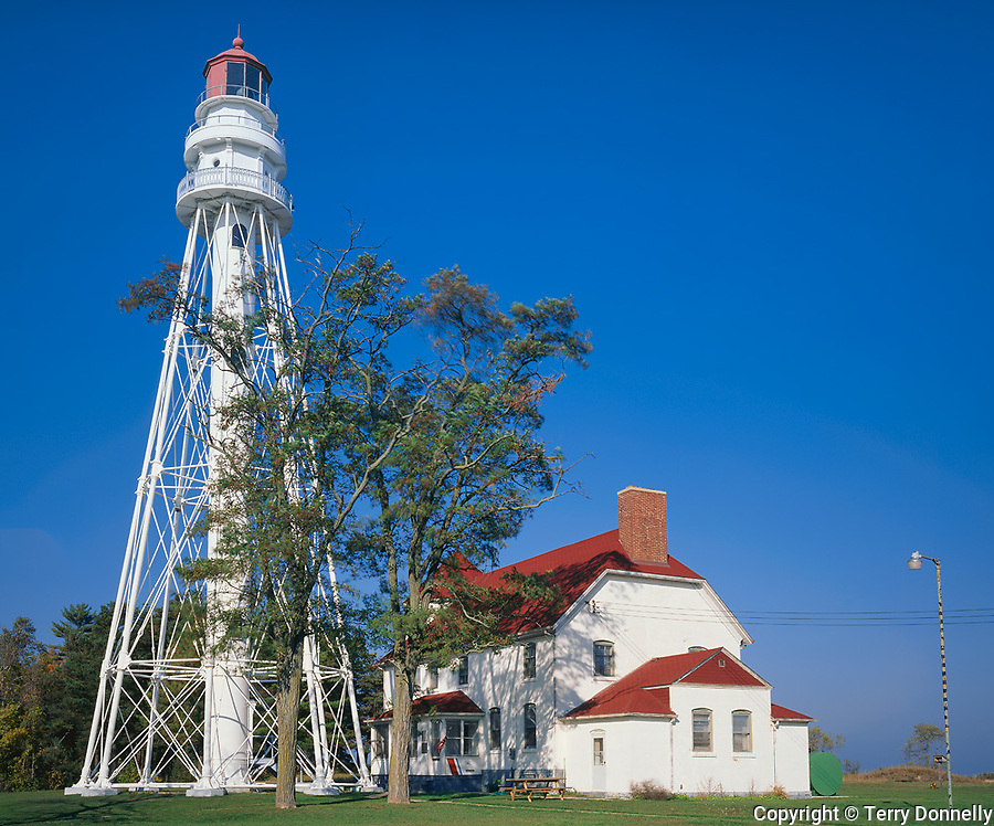 Point Beach State Park, WI:  Rawley Point Lighthouse (1894)