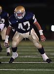 Servite @ Notre Dame - Sherman Oaks (CIF Southern Section).Jordan Barrett (47).Notre Dame High School Stadium.Sherman Oaks, CA (Los Angeles) - October 5, 2007.KN1R8370.CREDIT: Dirk Dewachter
