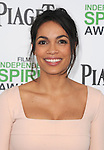 Rosario Dawson attends The 2014 Film Independent Spirit Awards held at Santa Monica Beach in Santa Monica, California on March 01,2014                                                                               © 2014 Hollywood Press Agency