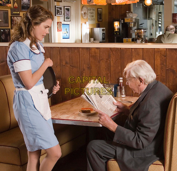KERI RUSSELL & ANDY GRIFFITH.in Waitress. **Editorial Use Only**.CAP/FB.Supplied by Capital Pictures