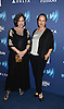 Louise Sorel and Crystal Chappell attend the 26th Annual GLAAD Media Awards on May 9, 2015 at The Waldorf Astoria in New York, New York, USA.<br /> <br /> photo by Robin Platzer/Twin Images<br />  <br /> phone number 212-935-0770