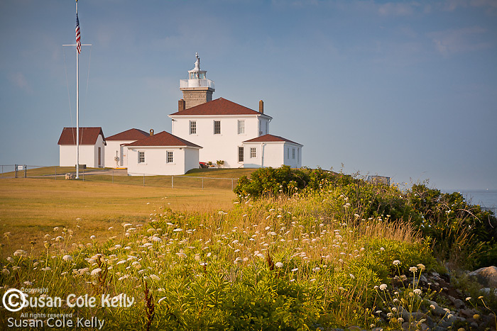 Watch Hill Light in Watch Hill, Westerly, RI, USA