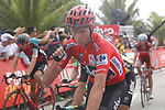 Race leader Christopher Froome (GBR) Team Sky crosses the finish line at the end of Stage 10 of the 2017 La Vuelta, running 164.8km from Caravaca A&ntilde;o Jubilar 2017 to ElPozo Alimentaci&oacute;n, Spain. 29th August 2017.<br /> Picture: Unipublic/&copy;photogomezsport | Cyclefile<br /> <br /> <br /> All photos usage must carry mandatory copyright credit (&copy; Cyclefile | Unipublic/&copy;photogomezsport)