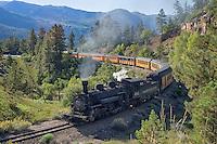Train that runs from Durango, CO to Silverton