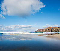 Scenic Dalmore Beach, Isle of Lewis, Outer Hebrides, Scotland
