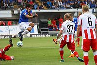 Felix Platte (SV Darmstadt 98) erzielt das Tor zum 3:0 - 28.04.2018: SV Darmstadt 98 vs. 1. FC Union Berlin, Stadion am Boellenfalltor, 32. Spieltag 2. Bundesliga