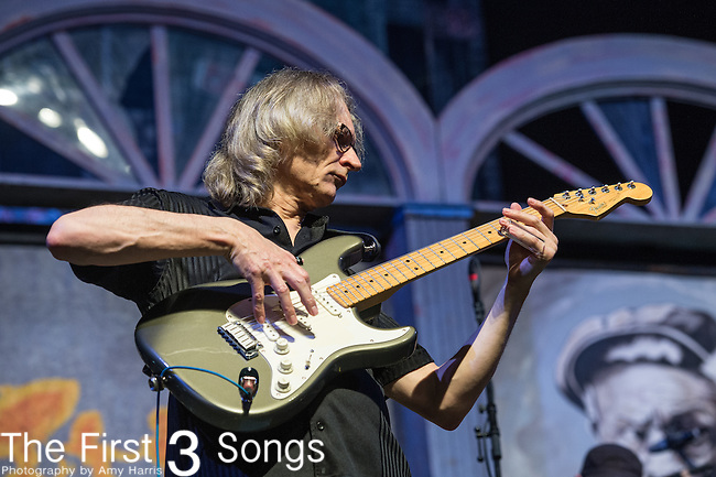 Sonny Landreth performs during the 2015 New Orleans Jazz & Heritage Festival in New Orleans, Louisiana.