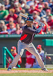 4 March 2013: Minnesota Twins infielder Daniel Santana in action during a Spring Training game against the St. Louis Cardinals at Roger Dean Stadium in Jupiter, Florida. The Twins shut out the Cardinals 7-0 in Grapefruit League play. Mandatory Credit: Ed Wolfstein Photo *** RAW (NEF) Image File Available ***