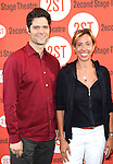 Tom Kitt and Amanda Green.attending the Off-Broadway Opening Night Performance of Second Stage Theatre's 'Dogfight' at the Second Stage Theatr in New York City.