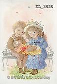 Interlitho, CHILDREN, nostalgic, paintings, boy, girl, gift(KL3620,#K#) Kinder, niños, nostalgisch, nostálgico, illustrations, pinturas