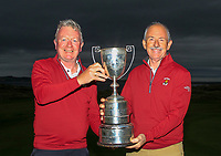 during the Munster Final of the AIG Junior Cup at Tralee Golf Club, Tralee, Co Kerry. 13/08/2017<br /> Picture: Golffile | Thos Caffrey<br /> <br /> <br /> All photo usage must carry mandatory copyright credit (&copy; Golffile | Thos Caffrey)