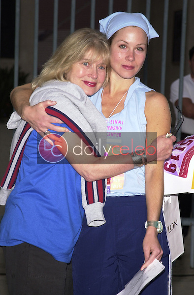 Christina Applegate and mother